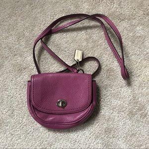 NWOT Coach Mini Crossbody Bag